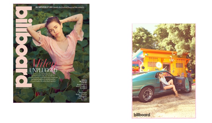 Fotos do artigo da revista Billboard