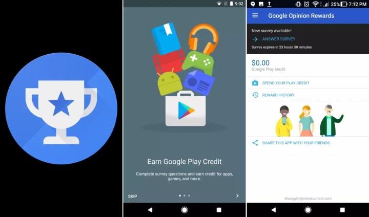 APP: Google Opinion Rewards – ganhecrédito